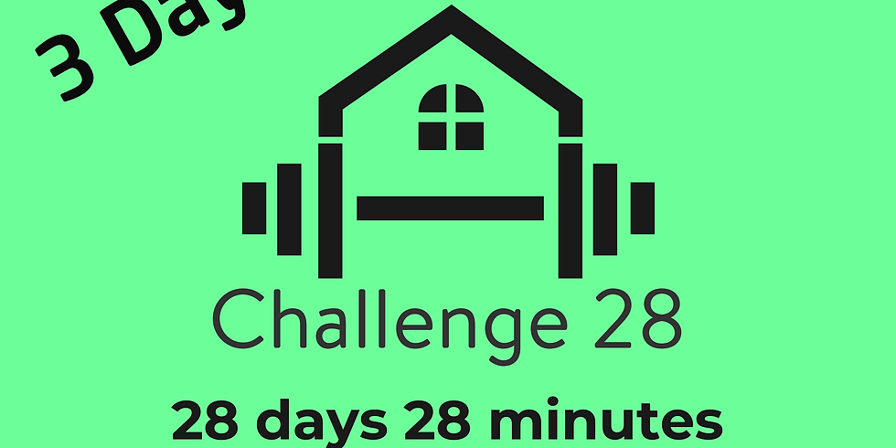 FREE - 3 Day Fitness Challenge