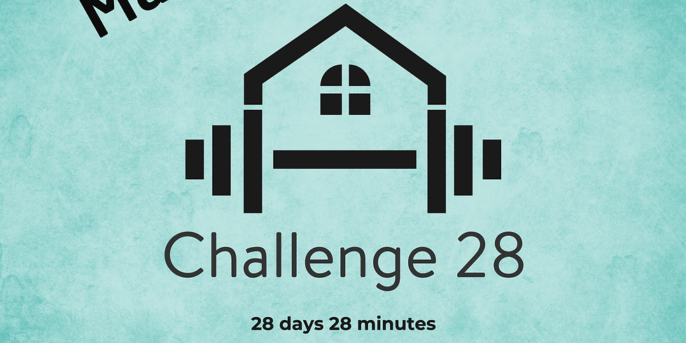 28 Day Fitness Challenge - March Plus 28 Food Plan