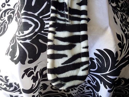 Zebra Pattern Twist A Bun