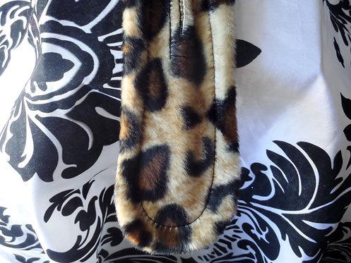 Cheetah Pattern Twist A Bun