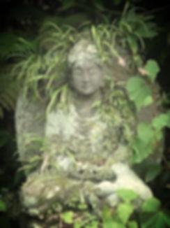 Old Buddha Yoga Statue