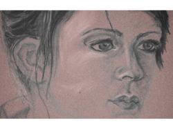 Portrait Study Detail