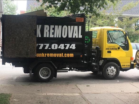 open truck to haul junk