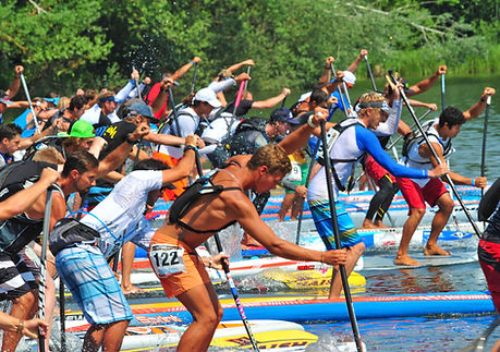 Lost-Mills-stand-up-paddle-board-race.jp