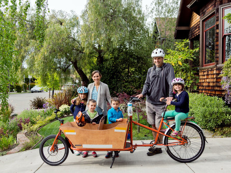 Want to Fight Climate Change? Swap Out Your Car for a Bike. Better Yet, a Cargo Bike