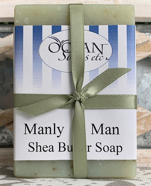 Manly Man Shea Butter Soap