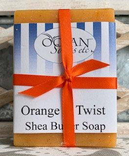 Orange Twist Shea Butter Soap