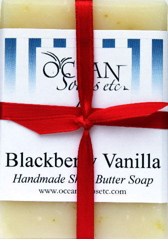 Blackberry Vanilla Shea Butter Soap