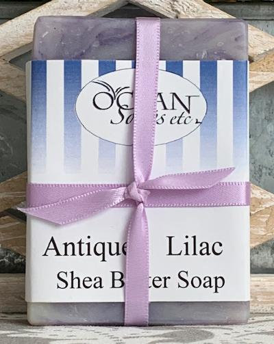 Antique Lilac Shea Butter Soap