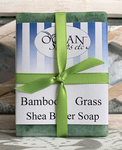 Bamboo Grass Shea Butter Soap
