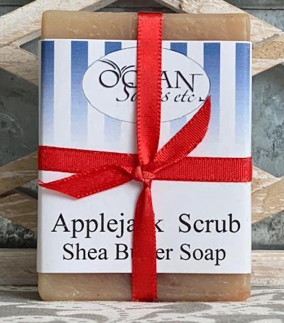 Applejack Scrub Shea Butter Soap
