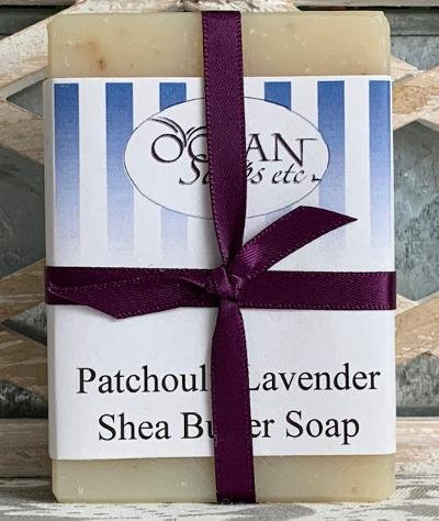 Patchouli Lavender Shea Butter Soap