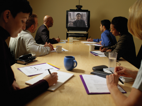 Le retour des réunions en duplex