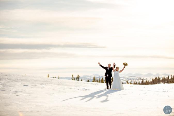 Skidbröllop  / Photobynadja / Bröllopsfotorgraf Åre