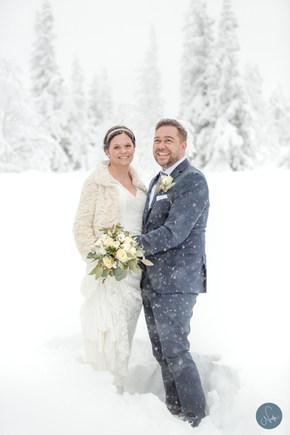 Vinterbröllop Åre / Photobynadja