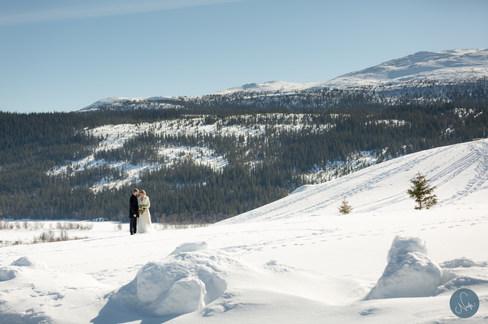 Vinterbröllopbröllop / Photobynadja / Bröllopsfotorgraf Åre