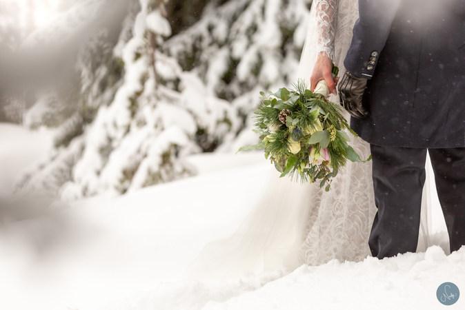 Vinterbrudpar / Photobynadja
