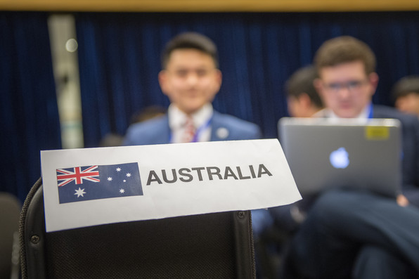 Australia Placard
