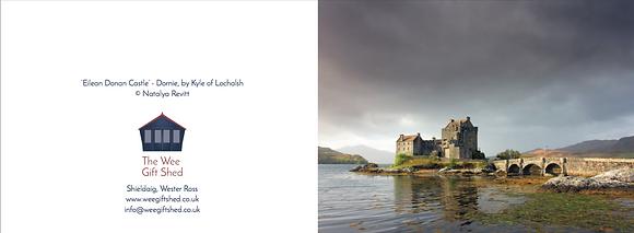 'Eilean Donan Castle' A6 Greeting Card