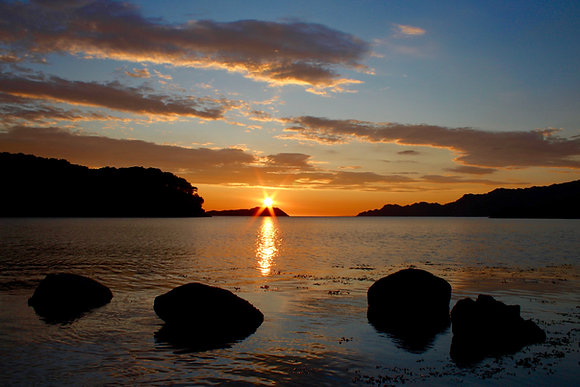 'Shieldaig Sunset'