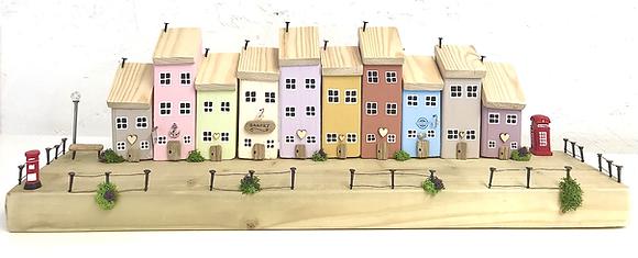 Handmade Driftwood Village