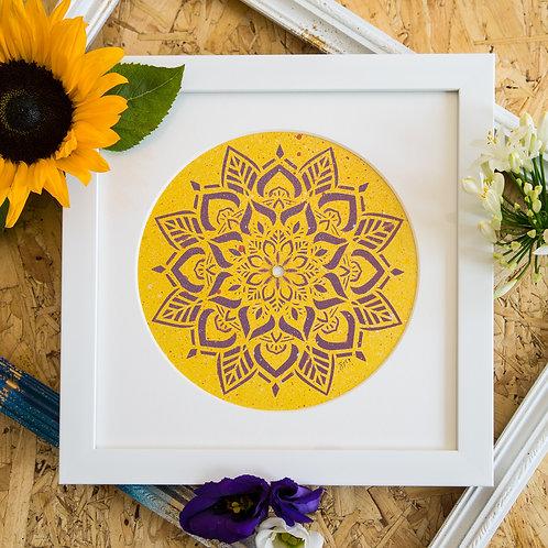 Shattered Single- Yellow Days Original Artwork