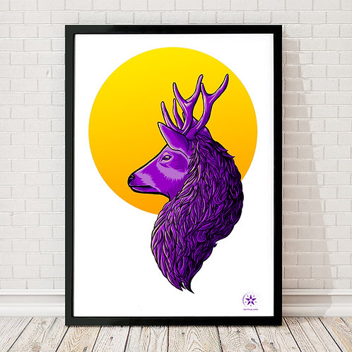 'Forest King' Limited Edition A2 Giclee Print