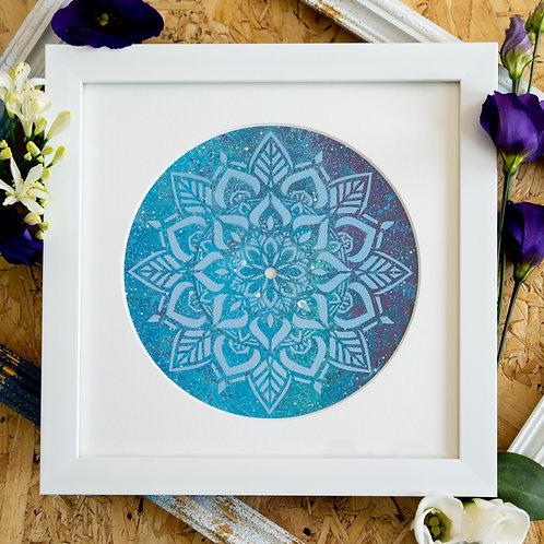 Shattered Single- Mermaid Mandala Original Artwork