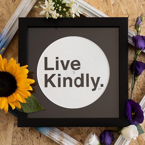Shattered Single- Live Kindly. Original Artwork