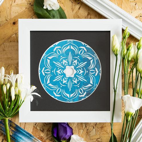 Scratched Disc- Always Blue Original Artwork