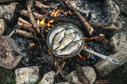 Cooking your catch