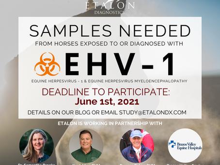 EtalonDx EHV-1 Susceptibility Clinical Study
