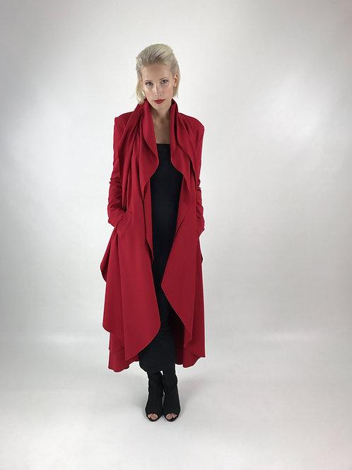 Mantel BLOSSOM Rot