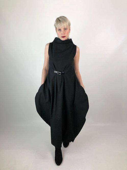 Kleid BALLON Lederschnalle