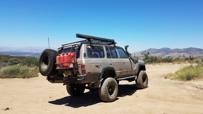 Armo wheeling down near Hemet (ending up on Soboba Indian Reservation) - May 20, 2017
