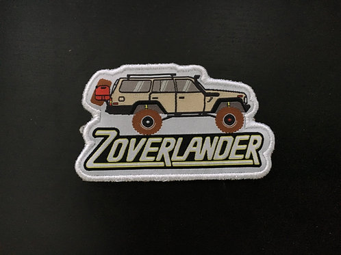 Zoverlander Inaugural Patch!