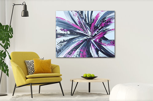 """PURPLE JOY"" -Gallery Quality Giclee Print, Prices starting @"