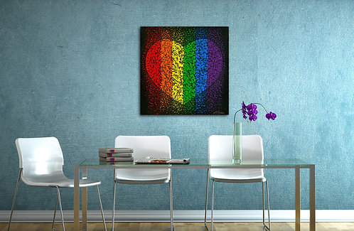 """LOVE YOURSELF"" -Fine Art Quality Giclee Print; Prices starting @"