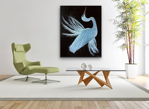 """EGRET""-Fine Art Quality Giclee Print; Prices starting @"