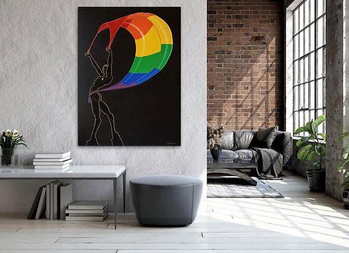 """WORLD PRIDE"" -Fine Art Quality Giclee Print; Prices starting @"