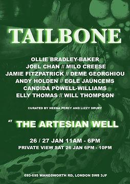 Tailbone Poster A4 JPEG .jpeg