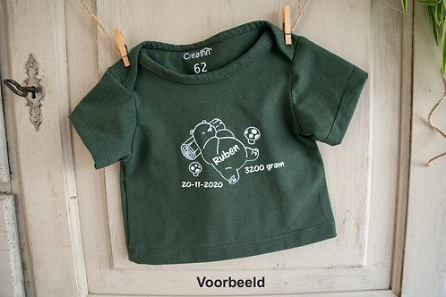 BS004 T Shirt baby korte mouw
