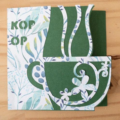 BB005 Kop op, groene kaart
