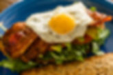 Faze Breakfast plate. Toasted multi-grai