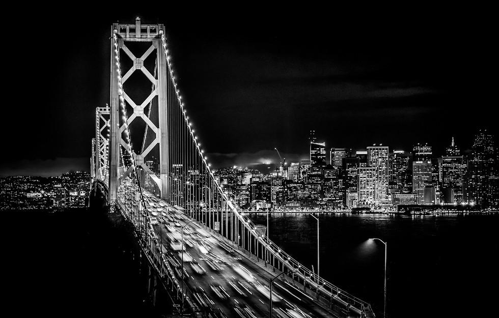 Night Bay Bridge