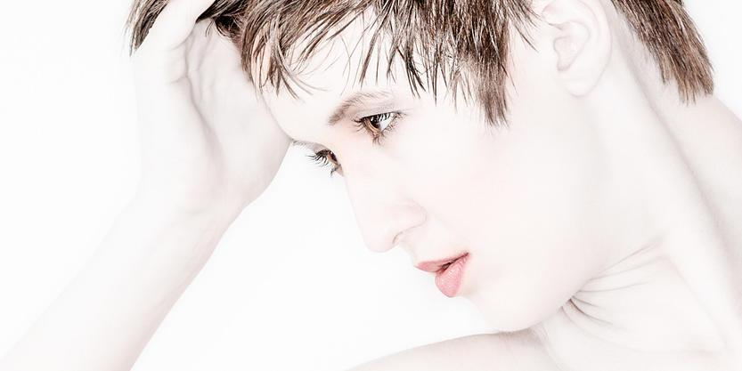 Photo of Female model porcelean skin