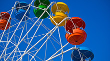 Gold County Fair Ferris Wheel of Love