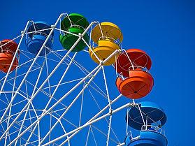 Colorful Carnival Ride