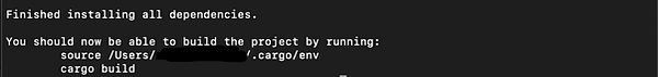 Finished Installing all Dependencies .pn