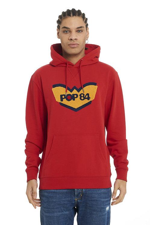 Sweatshirt POP84 LOGO hooded